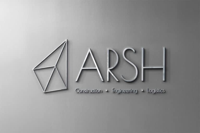 Разработка логотипа ARSH