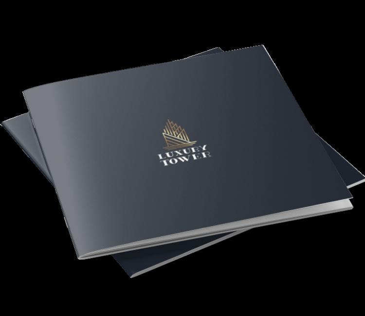 luxury tower brochure